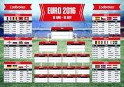 7159 euro 2016 wallchart