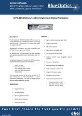 PDF Document blueoptics bo15c3155603d sfp bidi transceiver