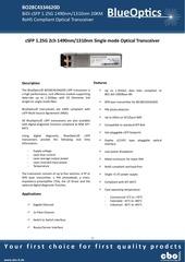 blueoptics bo28c4334620d 1000base 2bx d csfp