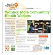 wanted more community health workers