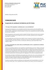 PDF Document comunicado puc goi s suspens o do vestibular de medicina