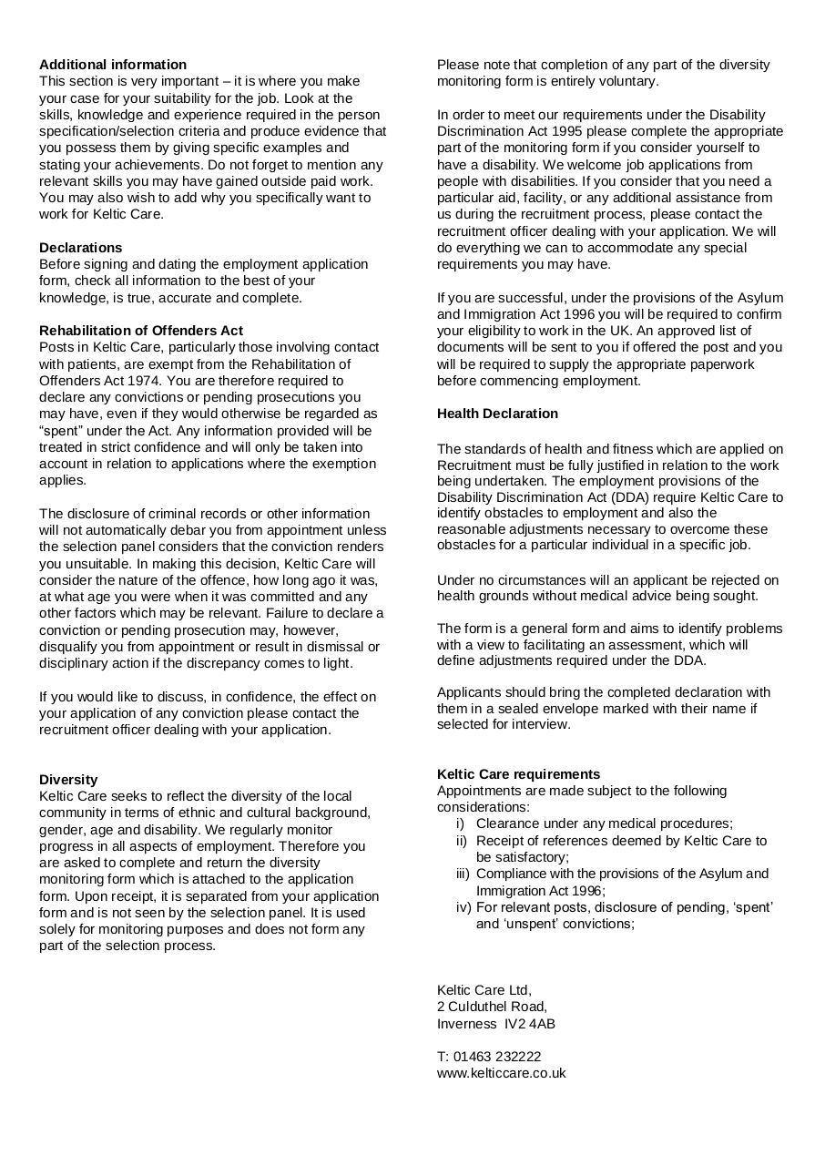 employee application form.pdf - page 2/10