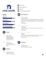 resume nick smith