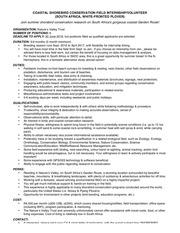southafrica shorebirdinternship details