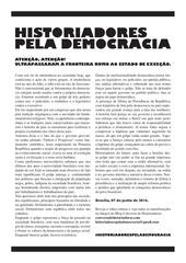 PDF Document manifesto historiadores pela democracia 07 06 2016 1