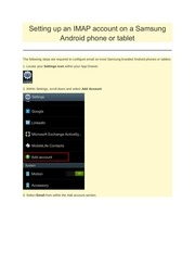 PDF Document samsung android imap setup