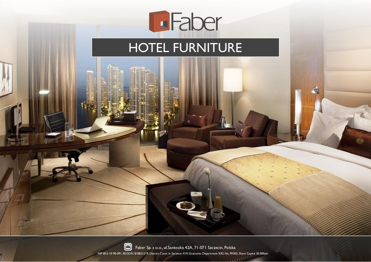Faber - HOTEL FURNITURE.pdf - page 1/24