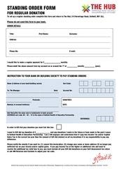 PDF Document standing order form revised