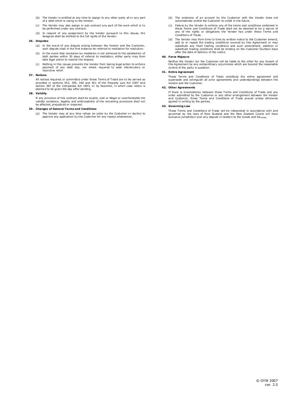 Account ApplicationTerms & Conditions March 2009.pdf - page 3/3