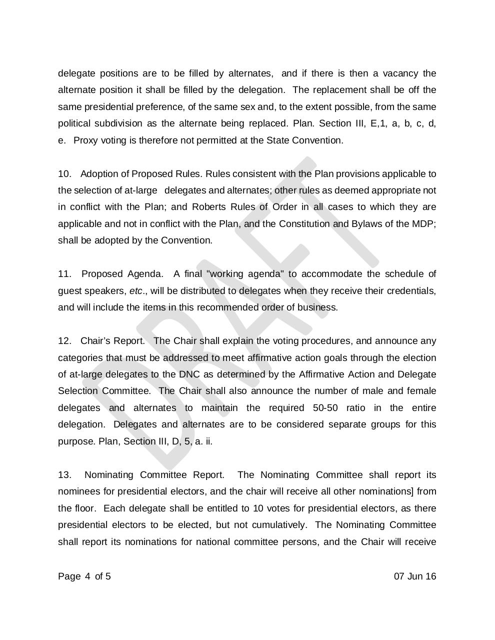 Document preview Draft Rules of MDP 2016 State Convention.pdf - page 4/5
