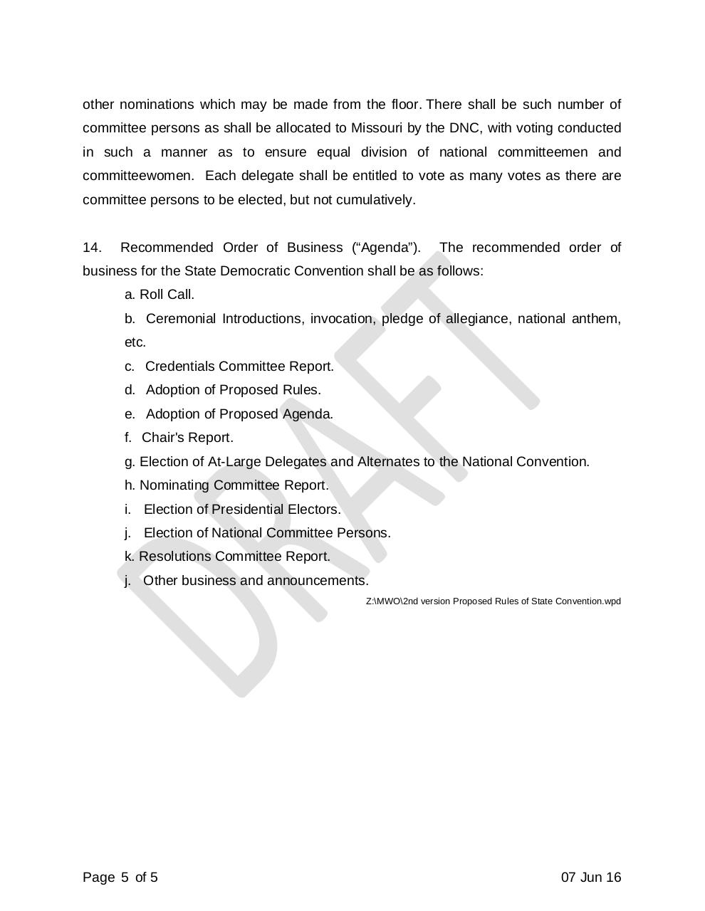 Document preview Draft Rules of MDP 2016 State Convention.pdf - page 5/5
