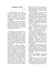 jornalismo e ciencia