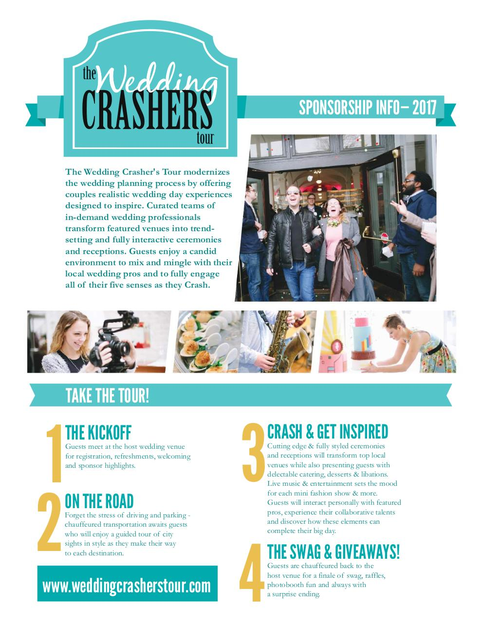 The Wedding Crasher's Tour 2017 Sponsor Packet.pdf - page 1/6