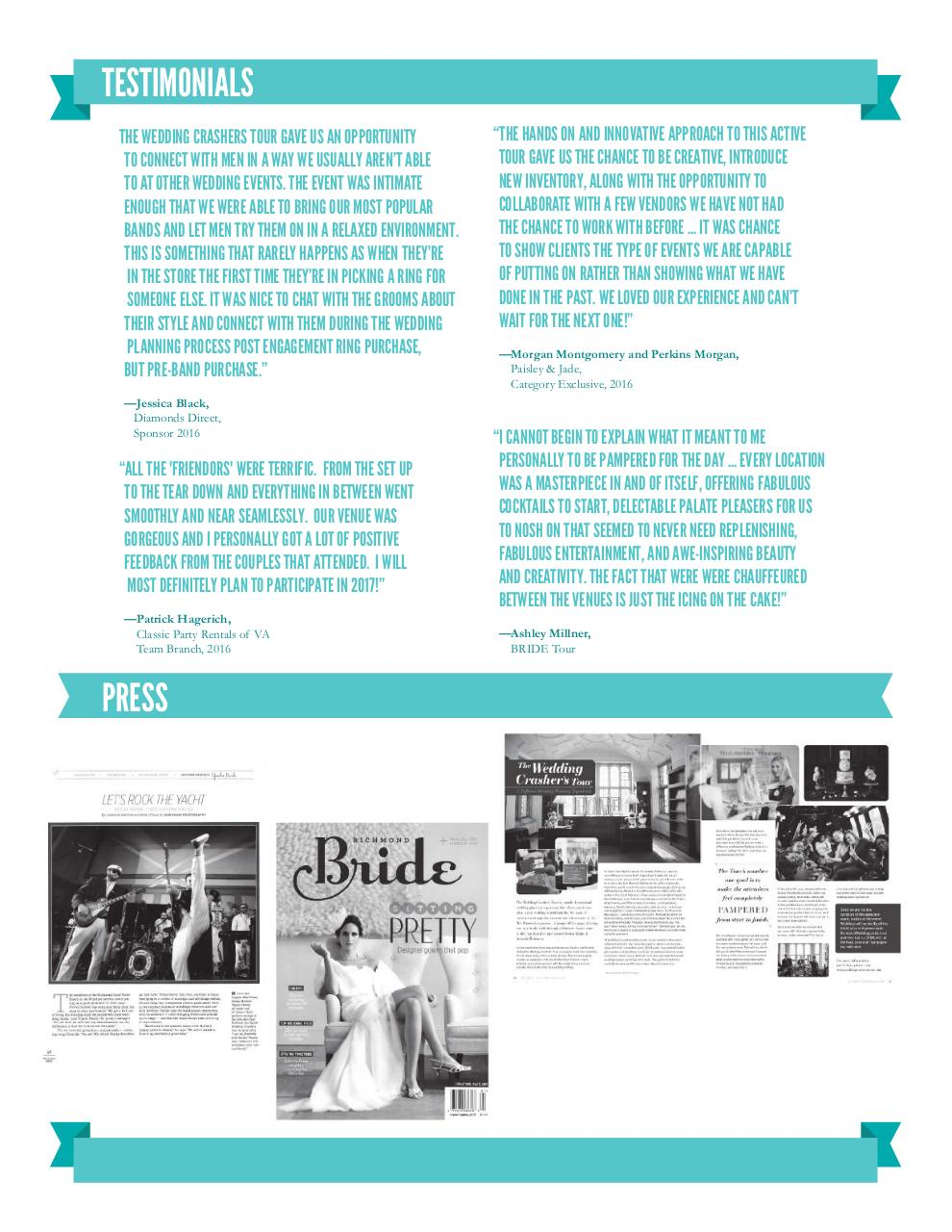 The Wedding Crasher's Tour 2017 Sponsor Packet.pdf - page 4/6
