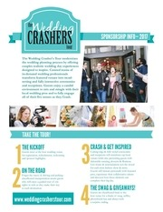 the wedding crasher s tour 2017 sponsor packet