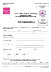 anoos application form