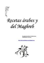 recetas arabes y del magreb 2011