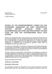 PDF Document erpresserbrief bacardi produkte vergiftet