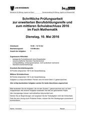mathematik 10 klasse berlin