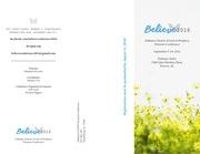 believe brochure