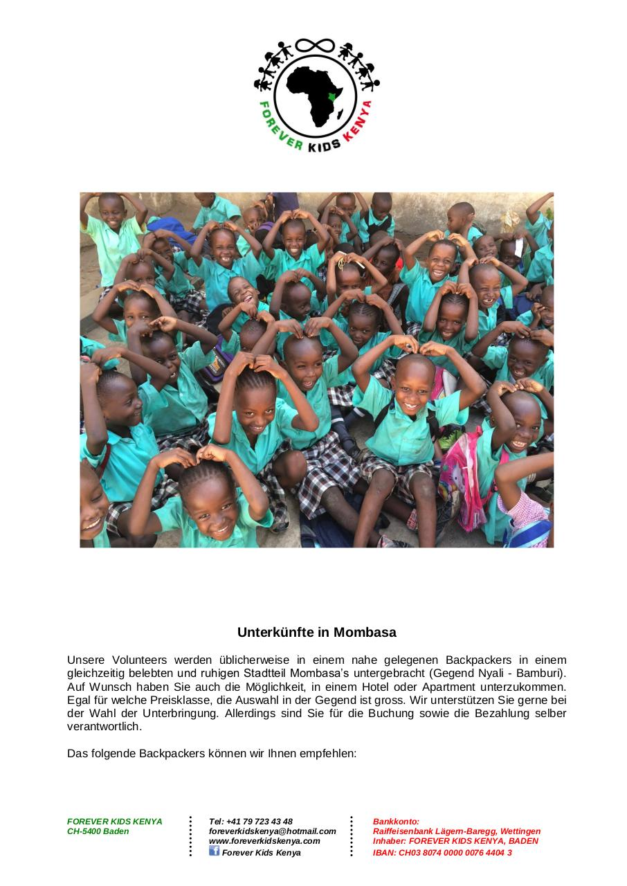 Forever Kids Kenya - Volunteering Program_2016_GER.pdf - page 4/5