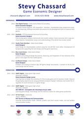 stevy chassard resume