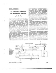 PDF Document an automatic down feed for the shaping machine