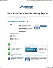 autocheck report may22 2016