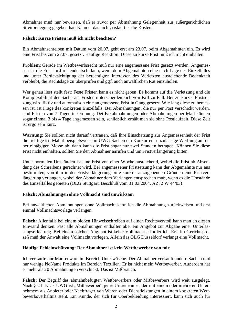 Abmahnung Die Häufigsten Fehler By Mister It Pdf Archive