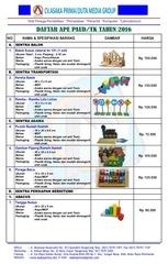 PDF Document katalog produk ape paud tk 2016 cv asaka prima
