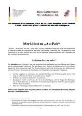 merkblatt au pair
