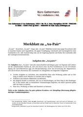 PDF Document merkblatt au pair