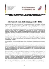 merkblatt eherecht 2006