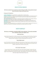 tgp office snacks info