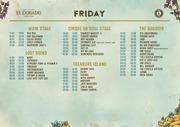 eldoradofest set times weekend all
