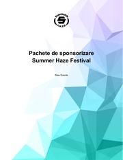 PDF Document event sponsorship proposal