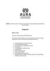 programa aura