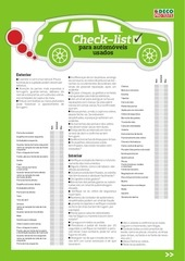 PDF Document check list para carros usados