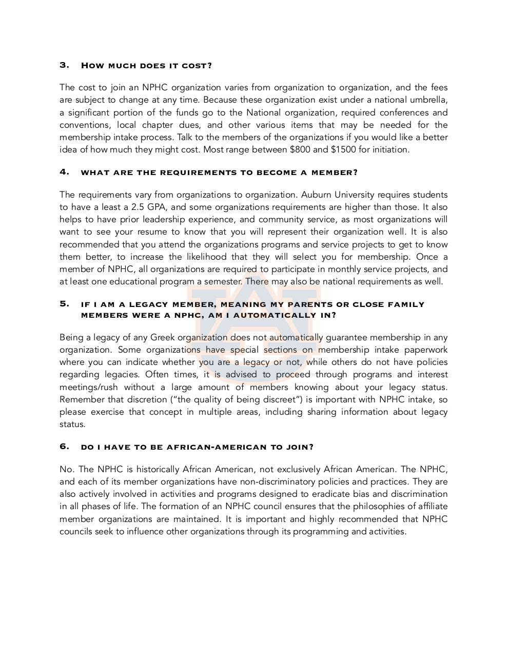 Document preview ten FAQs about greek life.pdf - page 2/3