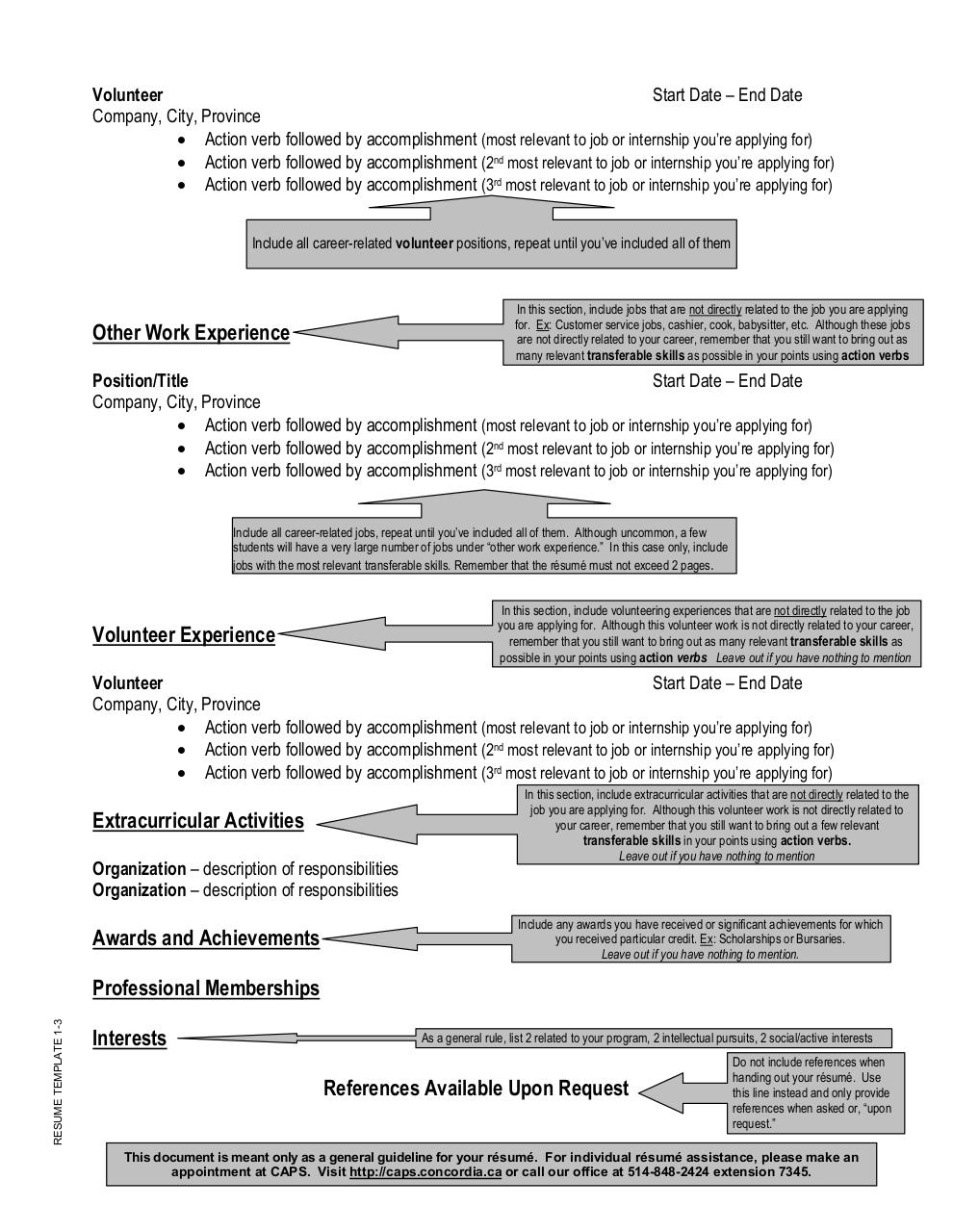 Resume Template New C By Robert Resume Template Pdf Pdf Archive