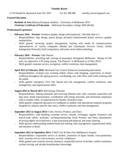 PDF Document timothy baxter resume