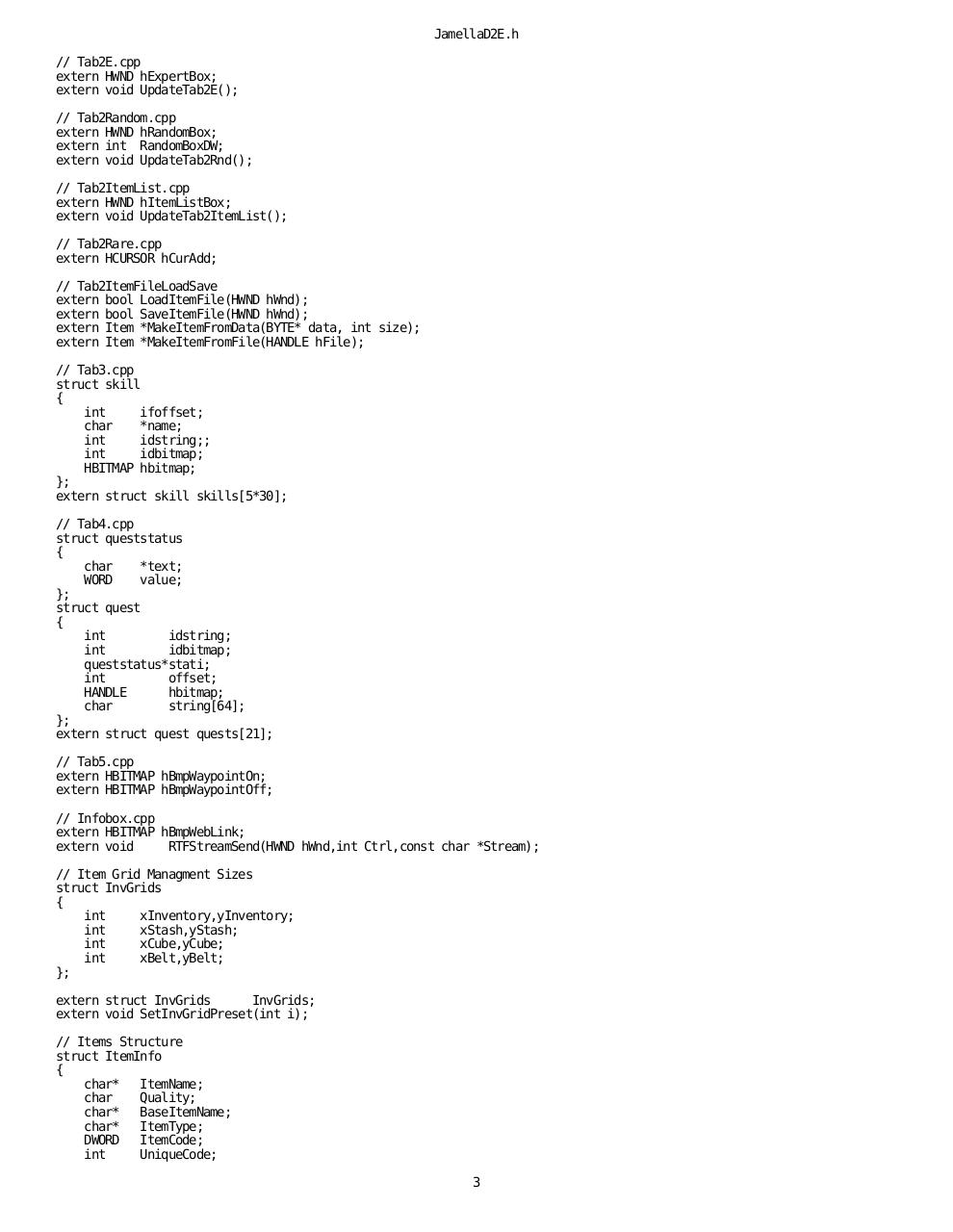 Microsoft Visual C++ by Zgium - Jamella Diablo II Source