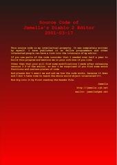 jamella diablo ii source code