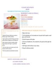 PDF Document recipe
