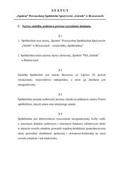 statut wprowadzono zmiany 11 06 2015r