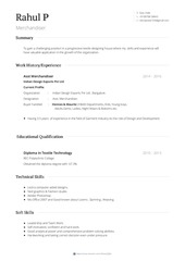 rahul powar visualcv resume