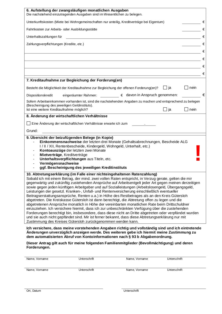Document preview Stundungsantrag.pdf - page 2/2