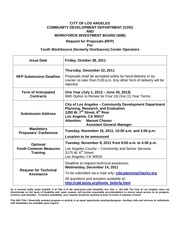 losangeles youthworksourcecenteroperators rfp oct2011