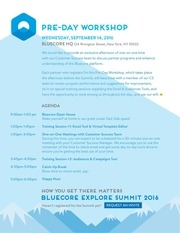 bluecoresummit2016 predayworkshop