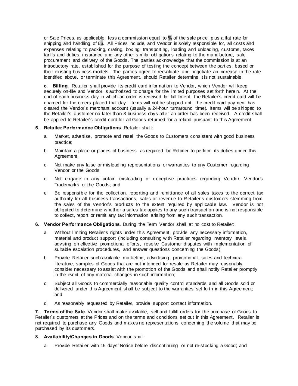 ePreppy Drop Shipping Agreement Template WORD copy.pdf - page 2/8